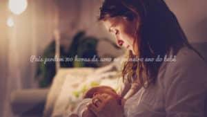 Pais perdem 700 horas de sono no primeiro ano do bebê