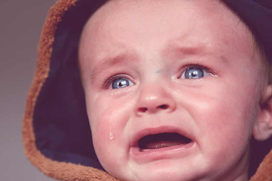 Os primeiros dias do bebê em casa, o choro