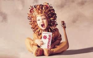 Como é o bebê de leão?