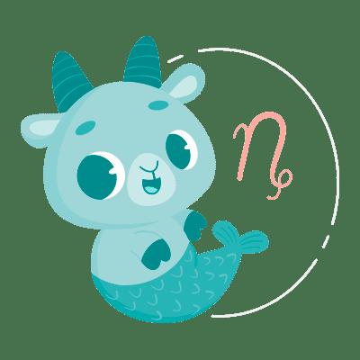 Bebê signo de Capricórnio