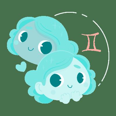 Bebê signo de Gêmeos
