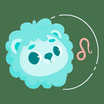 Bebê signo de Leão