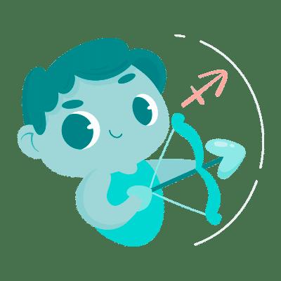 Bebê signo de Sagitário